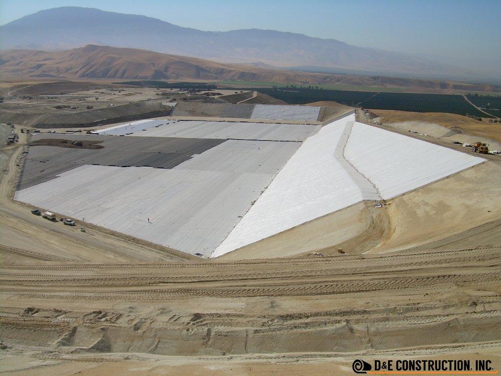 Landfills: Municipal Solid Waste Cells: Bena Landfill