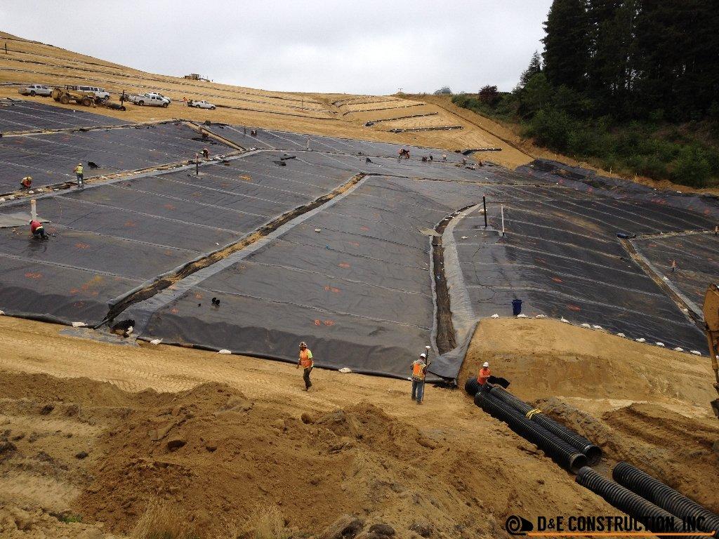 Landfill Caps: Cummings Road LF Phase 1