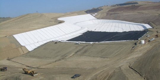 Landfills: Municipal Solid Waste Cells: Lamb Canyon Landfill