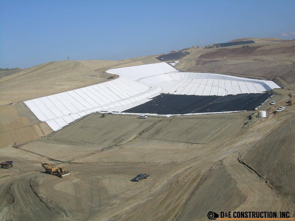 Landfills: Municipal Solid Waste Cells: Lamb Canyon Landfill